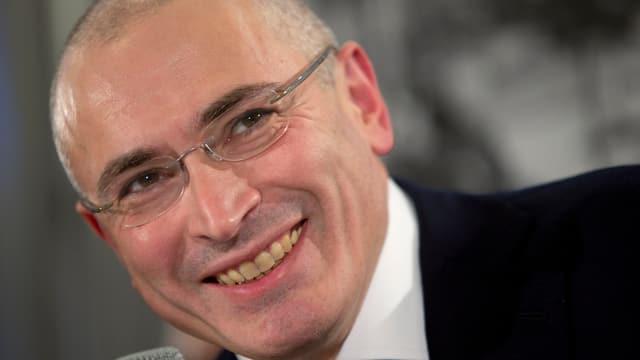 Chodorkowski in der Schweiz