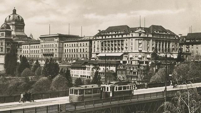 Ein altes Foto des Hotels