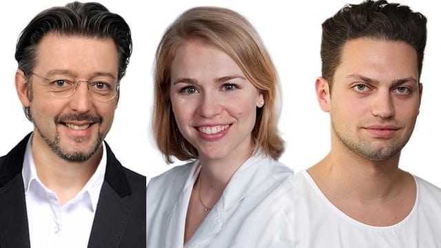 Portraitaufnahme der drei Chat-Experten