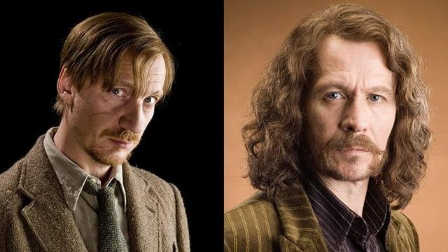 Remus Lupin und Sirius Black