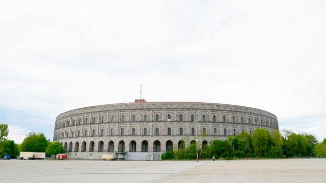 Das Nürnberger Kolosseum.