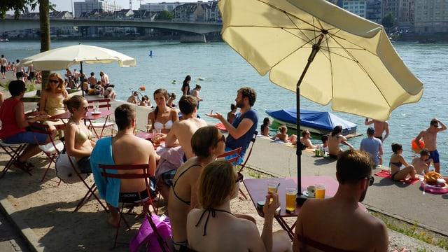 Buvette am Rhein