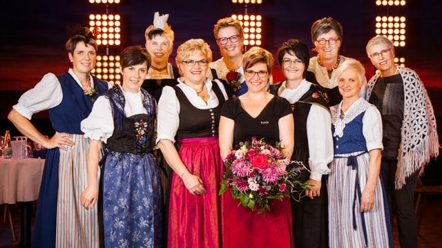 Video ««SRF bi de Lüt – Landfrauenküche»: Die Nacht der Siegerinnen» abspielen