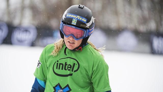 Die Schwedin Anna Holmlund.