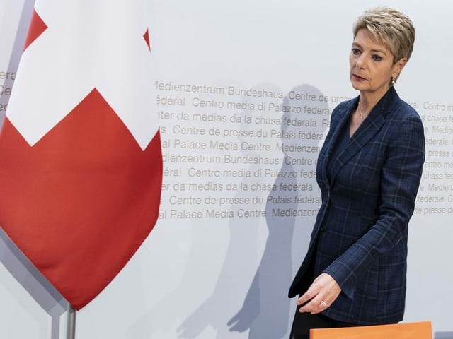 Cussegliera federala Karin Keller-Sutter