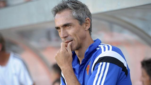 Der neue FCB-Trainer Paulo Sousa an der Seitenlinie