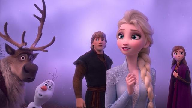 Die Helden von Frozen 2