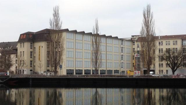 Das ehemalige Farbrikgebäude, in dem die Hallen für Neue Kunst untergebracht waren.