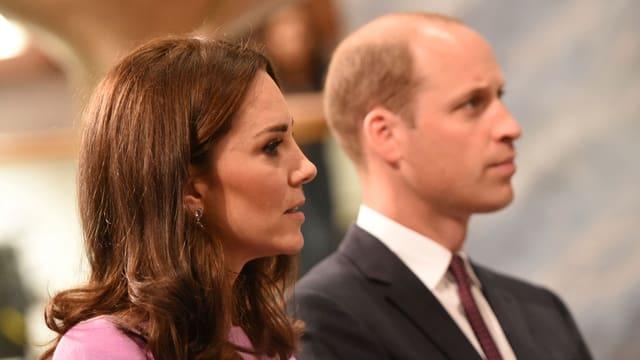 Kate und William.