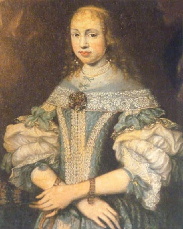 Purtret da Hortensia Gugelberg von Moos-Salis.