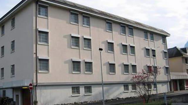 Das Gefängnis in Oberdorf von aussen.