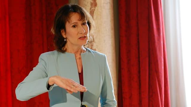 BKW-Konzernchefin Suzanne Thoma.
