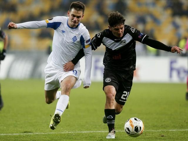 1:1 in Europa League bei Kiew - Dynamo verhindert Luganos Premierensieg spät