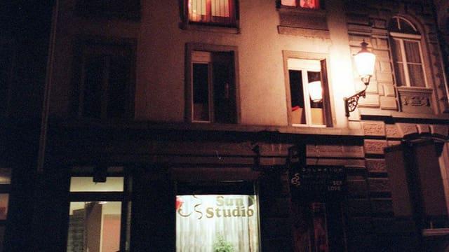 Bordell in Zürich.