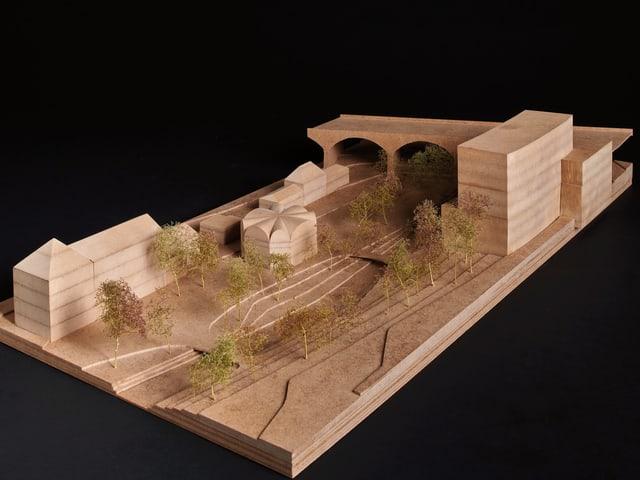 Modellfoto des Siegerprojekts.