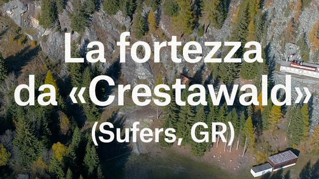 "Laschar ir video «La fortezza secreta da ""Crestawald"" - Underground Switzerland»"