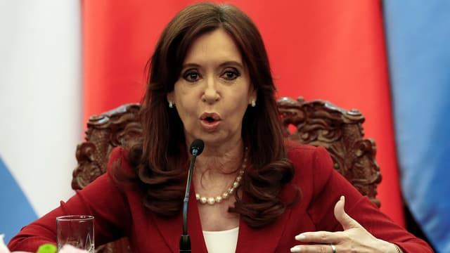 Argentiniens Präsidentin Cristina Kirchner.