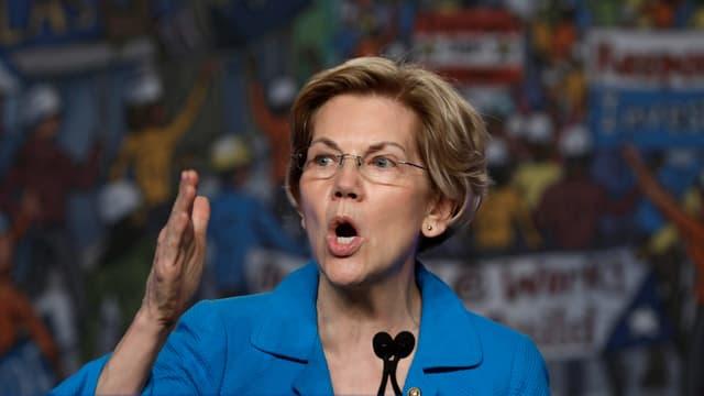 Purtret dad Elizabeth Warren.