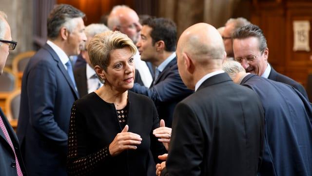 Karin-Keller Sutter im Ständerat