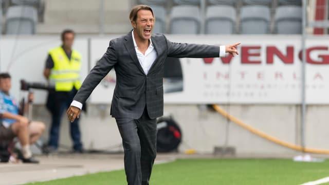 Paolo Tramezzani kritisierte seine Spieler hart.