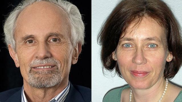 Dr. Toni Brühlmann und Dr. Tabea Apfel