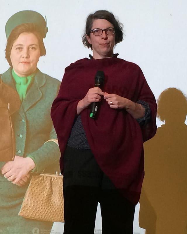 Avant la preschentaziun dal film è l'autra e la reschissura Petra Volpe sa drizzada al public.
