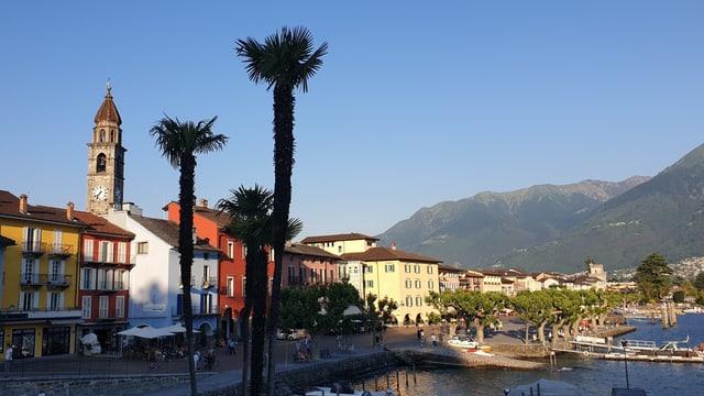 Uferpromenade in Ascona.