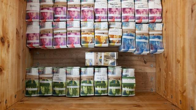 Geld in Kiste