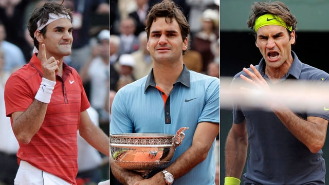 Roger Federer hat an den French Open schon viel erlebt.