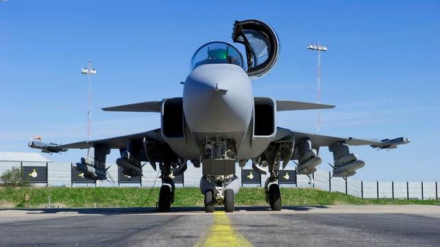 Gripen-Jet von Saab.