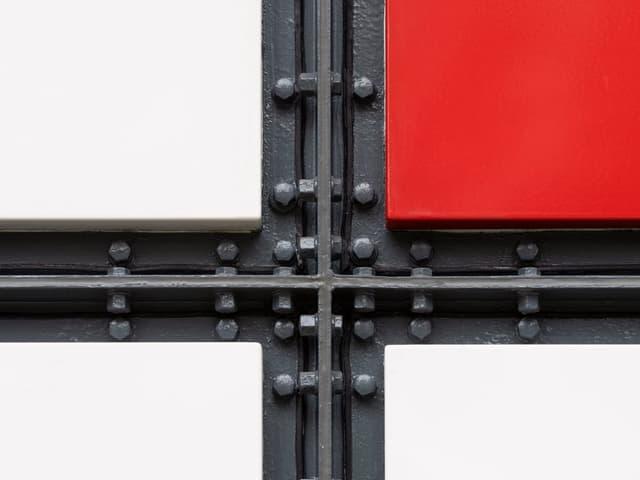Fassadendetail, Pavillon Le Corbusier, 2019, Zürich