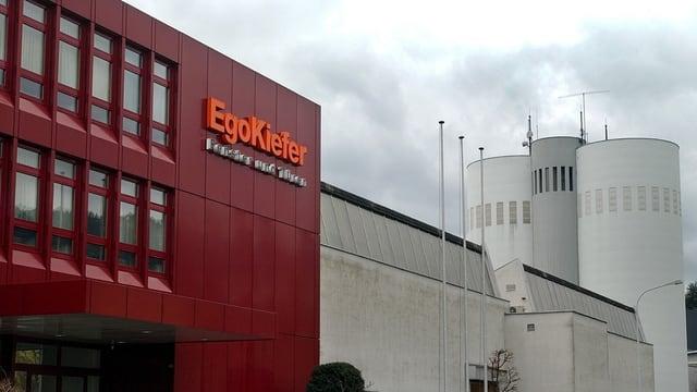 Gebäude der EgoKiefer in Altstätten