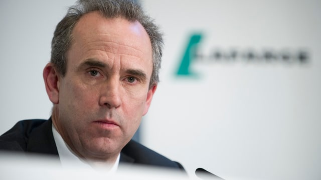 Eric Olsen, il schef dal concern LafargeHolcim sa retira.