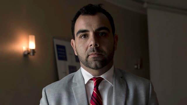 Der Direktor der Menschenrechtsorganisation Human Rights Watch für Israel und die Palästinensergebiete, Omar Shakir.