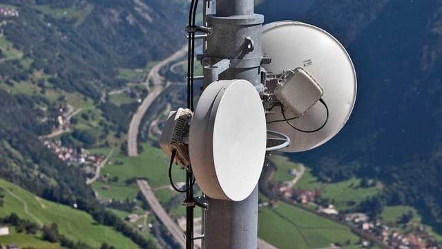 Eine Handy-Antenne