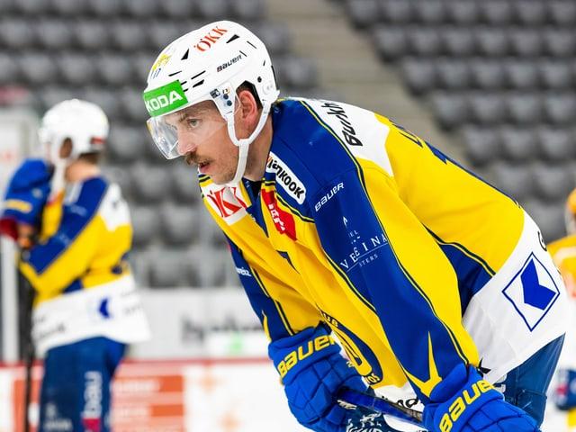 Perttu Lindgren kam beim HCD diese Saison nicht wie gewohnt auf Touren.