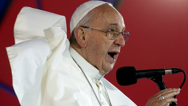 Papst im Profil