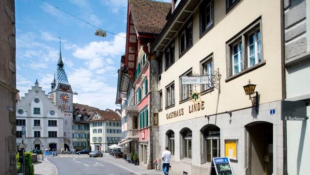 Die Altstadt von Zug.