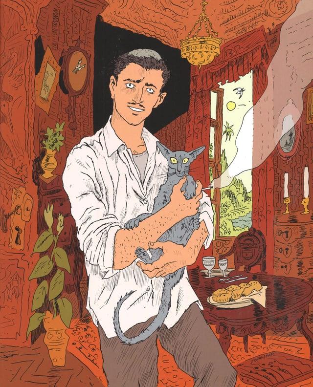 Ein Ausschnitt aus «Die Katze des Rabbiners»