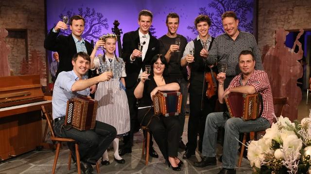 Video ««Potzmusig» Silvester-Stubete vom 29.12.2012» abspielen