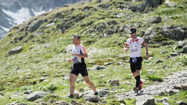 Curriders dal Swissalpine maraton.