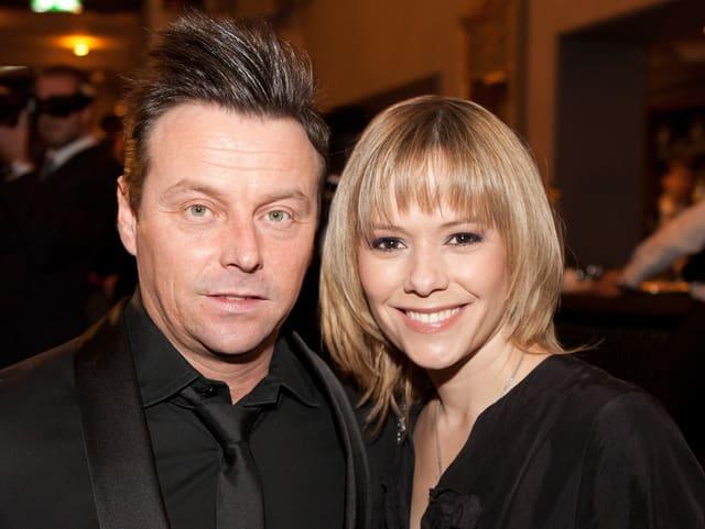 Florian Ast und Francine Jordi