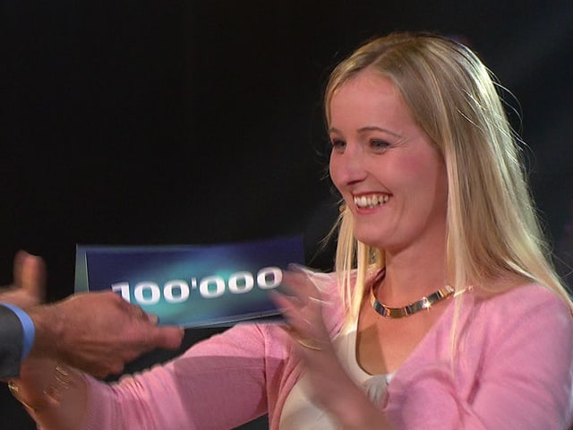 Madeleine Häsler gewinnt 100'000 Franken bei «Top Secret».