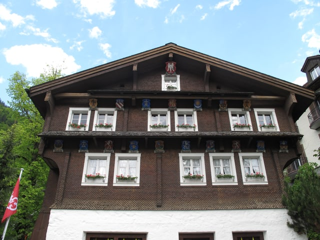 Das Talmuseum Engelberg.