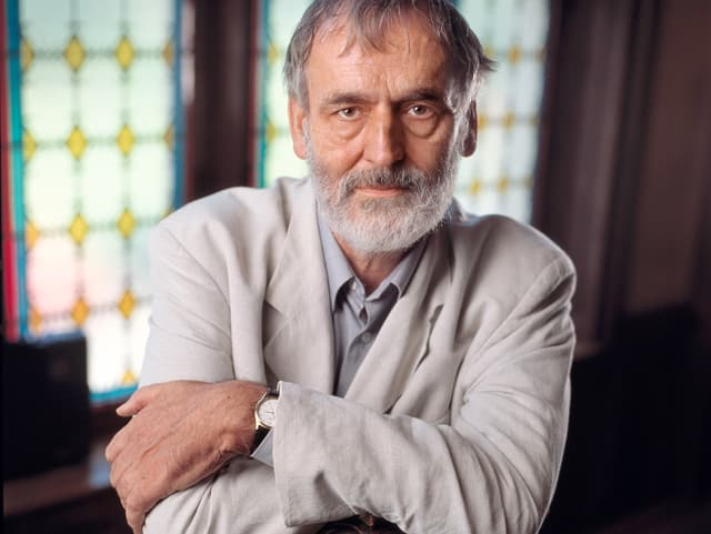 Ein Portrait von Komponist Helmut Lachenmann.