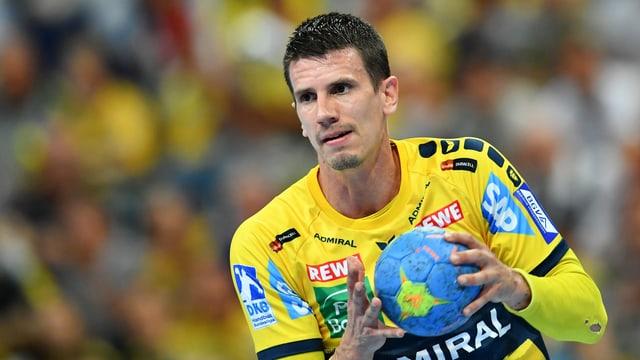Andy Schmid in der Deutschen Handballbundesliga