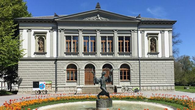 Kunstmuseum St. Gallen von aussen