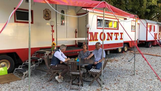 «Glanz & Gloria Weekend» vor Ort beim Circus Monti