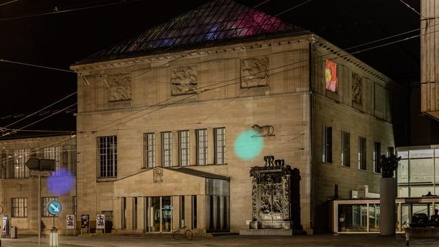 Kunst-und-Bau-Konzept «Tastende Lichter» der Künstlerin Pipilotti Rist.
