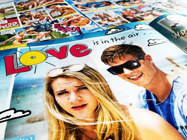 Foto Love Story aus der «Bravo».